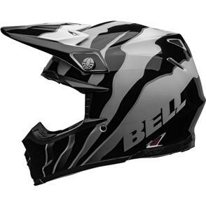 BELL MOTO HELMETS 2022 MOTO-9S FLEX CLAW BLACK/WHITE